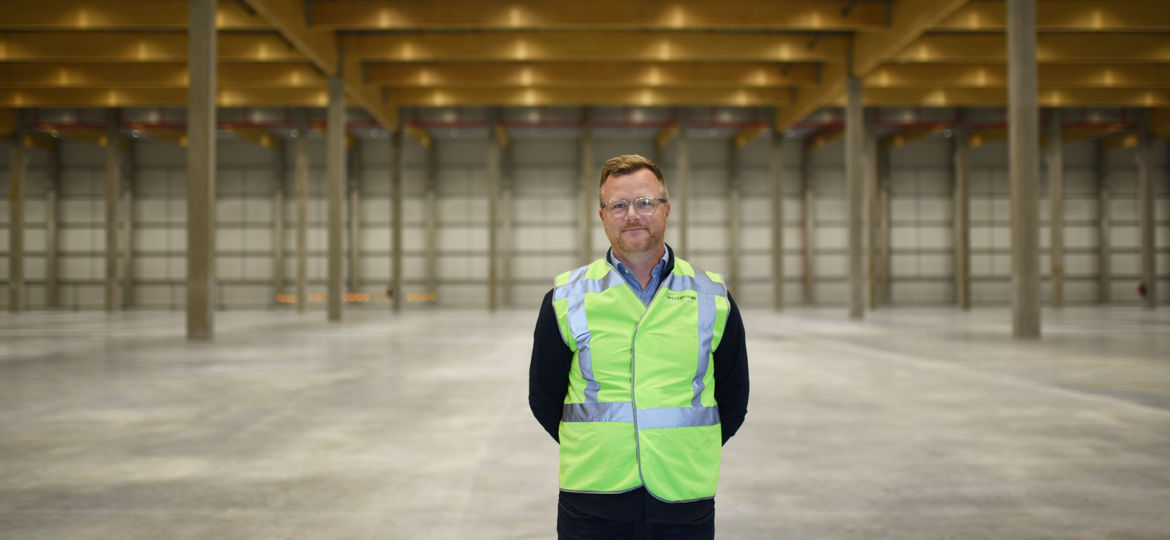Photo of Johan Ullenby, Managing Director for the Swedish part of Westerman Multimodal Logistics